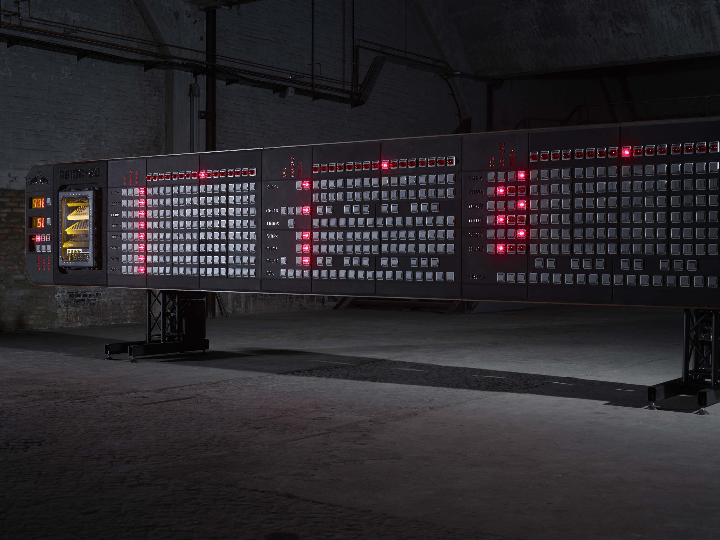 RED BULL – RBMA-20 – WORLD´S LARGEST SEQUENCER